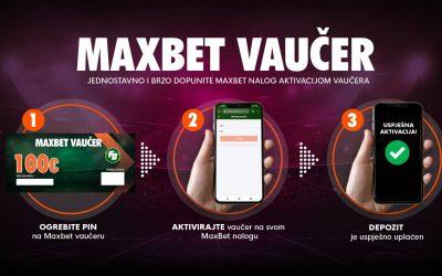 MaxBet Vaučer