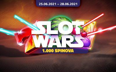 Slot Wars 1000 Spinova