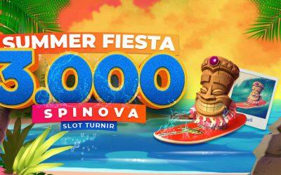 Summer Fiesta – 3000 spinova