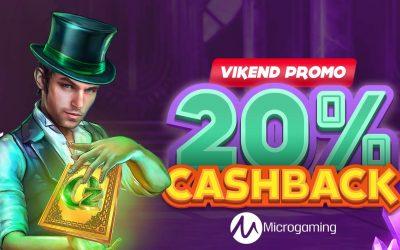 Vikend promo – 20% cashback